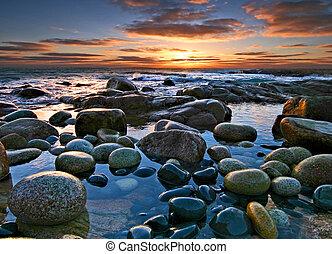 Varnished Rocks