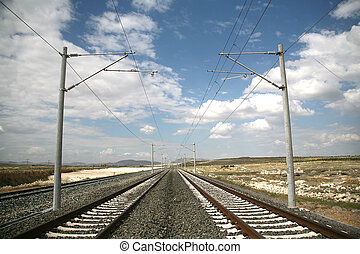 vasút, háttér