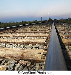 vasút, tracks.
