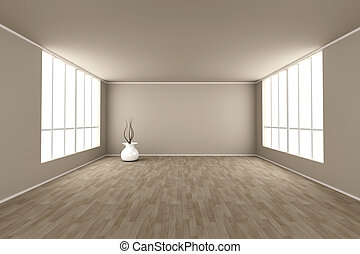 Vase - 3D rendered Illustration.