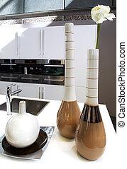 Vase in Kitchen
