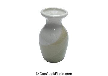 vase, isolated on white