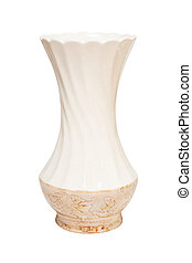 Vase. Isolated on white, with clipping path.