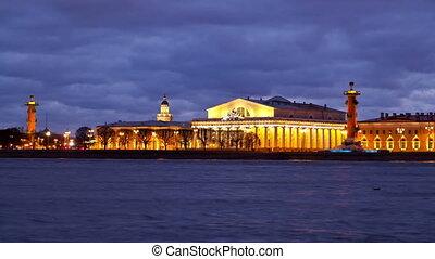 Vasilevsky Island. St. Petersburg. Russia