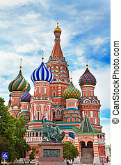 vasily, blazhennogo's, cathedral(st, basil's, cathedral), ., moscow., russia.