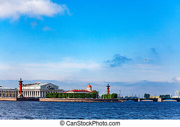 Vasilyevsky Island view Saint Petersburg, Russia - View on ...