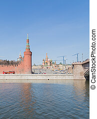 Vasilyevsky Spusk - Kremlin Embankment and Vasilevsky ...