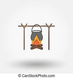 vaso, campfire.