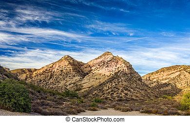 Vasquez Rocks at Sunset