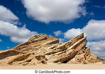 Vasquez Rocks Natural Area Park in Southern California, USA.