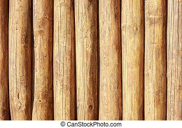 vast lichaam, textuur, logs., hout, backgroung, geheel