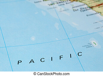 Ocean pacific. Illustrations and clipart
