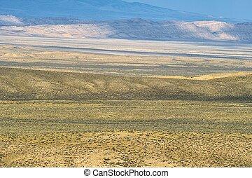 vaste, désert