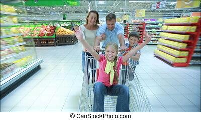 vasten, shoppen