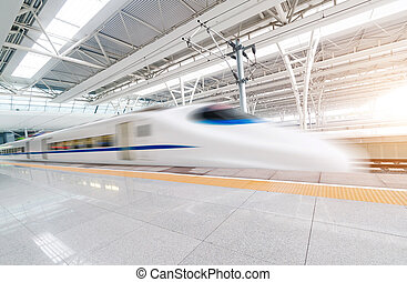 vasten, verhuizing, trein