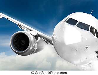 vasten, vliegtuig