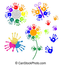 vastgesteld ontwerp, handprints, communie
