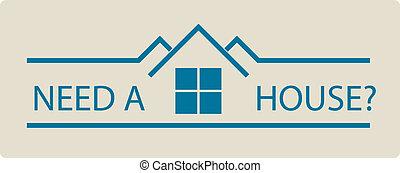 vastgoed, logo
