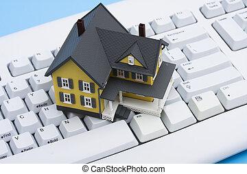 vastgoed, online