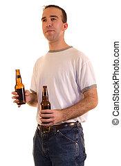 vasthouden, bier