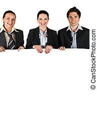 vasthouden, witte raad, zakenlui