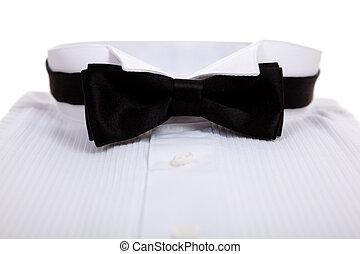 vastknopen, tuxedo, hemd, boog