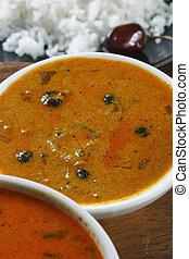 Vatha Kulambu - A snack from Kerala - Vatha kuiambu - Vatha ...
