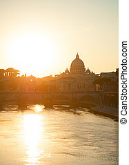 Vatican at sunset, Roma
