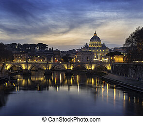 Vatican at sunset