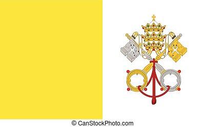 Vatican City flag image