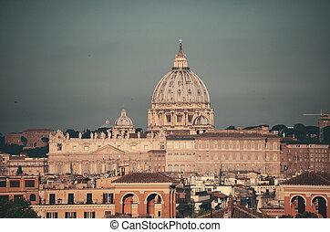 Vatican City St Peters Basilica.