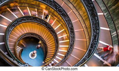 vatican, défaillance temps, escalier, musées