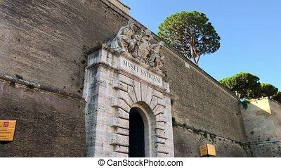 vatican, entrée, musée