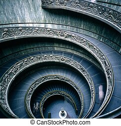 Vatican Museum, Spiral stairs