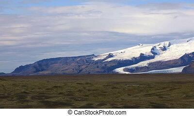 Vatnajokull glacier, Iceland - Vatnajokull glacier (Water...