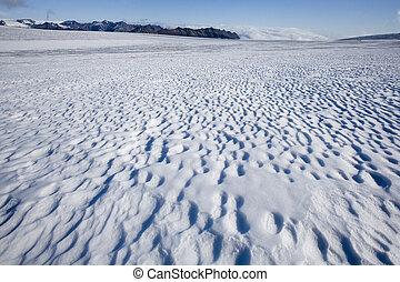 vatnajokull, hielo, islandia, -, gorra