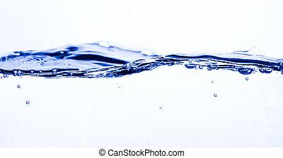 vatten, abstrakt