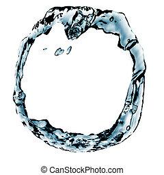 vatten, cirkel