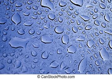 vatten, droppar