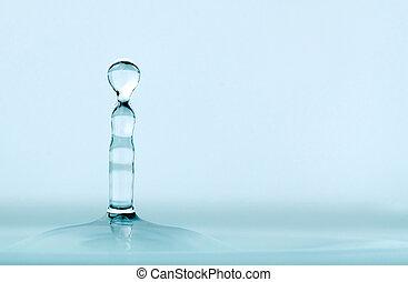 vatten, drypande