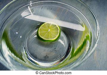 vatten, lindar