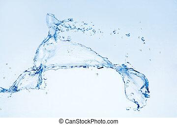 vatten, plaska