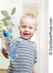 vatten, pojke