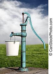 vatten pumpa