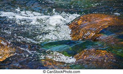 vatten, rörelse