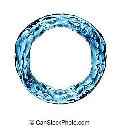 vatten, ringa