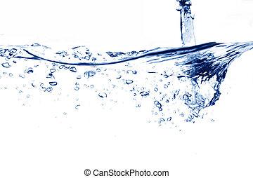 vatten, ström, stjärnfall