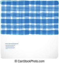 vattenfärg, bakgrund, med, någon, stripes