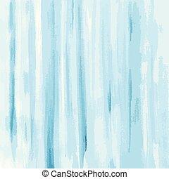 vattenfärg, blåttbakgrund, struktur, vektor