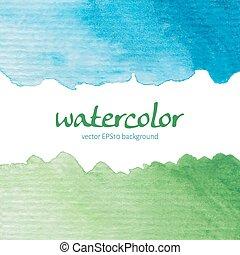 vattenfärg, kort